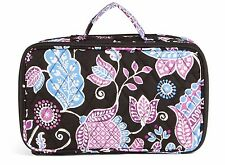 VERA BRADLEY Blush and Brush ALPINE FLORAL Cosmetic Bag Case Travel Lined $42