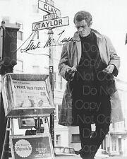 Steve McQueen signed Bullitt Papillion 8X10 photo picture poster autograph RP 2
