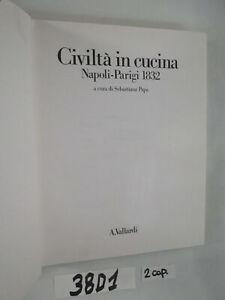 Papa CIVILT… IN CUCINA Napoli Parigi 1832 (38D1)