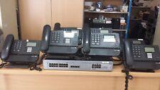 CENTRALE TELEPHONIQUE  PABX ALCATEL OMNIPCX POWERCPU EE + ALCATEL 8039 8029 2016
