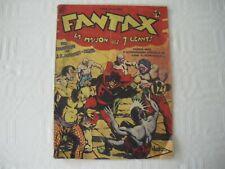 bd FANTAX N° 14 CHOTT de 1947 EO édition original
