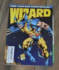 WIZARD COMIC MAGAZINE #65 WOLVERINE YEAR-END SPECTACULAR MARVEL
