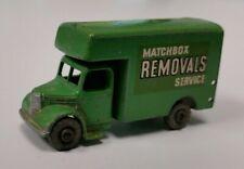 Matchbox Lesney No.17b Bedford Removals Service Van - BLACK OUTLINE DECALS