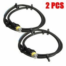 2X ABS Wheel Speed Sensor Wire Harness Front Rear For GM Cadillac H2