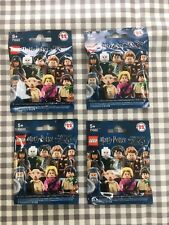 Lego harry potter & fantastic beasts minifigures sealed mystery blind bags x4