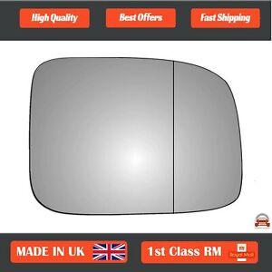 Right Driver Wide Angle Wing Mirror Glass Isuzu Rodeo 2002-2009 551RAS