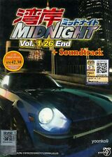 Wangan Midnight (Vol.1-26 End+2 CD Soundtrack) English Sub _ Anime DVD _Region 0