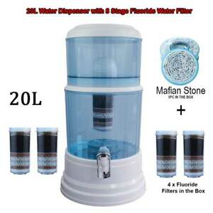 Aimex Water Dispenser 20L Bench Top Purifier 8 Stage Water Filter with 4 Filters