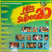 LP - Hits International auf Super 20,gewaschen,ariola.Grace Jones,Toto....