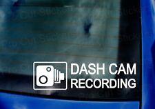 DASH CAM RECORDING Car Van Camera Window Bumper Sticker Decal