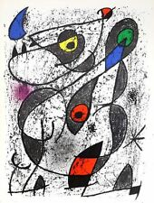 Joan Miro - Indelible - A L'Encre II (M.838) - Original Maeght Lithograph - 1972