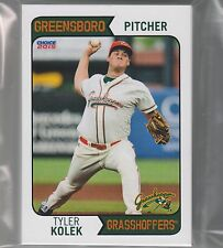 COMPLETE TEAM SET 2015 GREENSBORO GRASSHOPPERS MINORS LOW A MIAMI TYLER KOLEK RC
