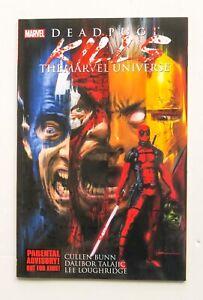 Deadpool Kills the Marvel Universe Marvel Graphic Novel Comic Book