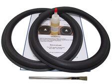 """2 JL Audio 12"""" 12W3 12W3v2 Speaker Foam Surround Repair Kit - 2JL123"""