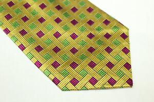UNGARO Silk tie Made in Italy F13456  man