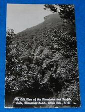 The Old Man Of The Mountain And Profile Lake NH Photo Postcard, Unused