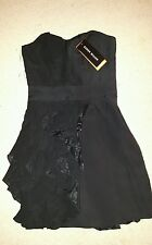NEW Designer Karen Millen evening party dress, black, size 8
