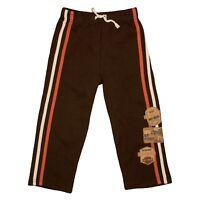 Harley-Davidson® HD Little Boys Brown Fleece Pants with Patches SGI3271338