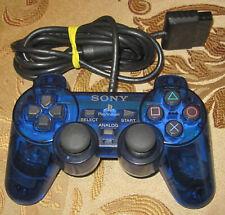 Official OEM Sony DualShock 2 Ocean Blue (SCPH-10010U) Gamepad Controller