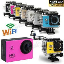 1080P Full HD DV Grabadora Coche Impermeable Acción Deportes Cámara videocámara
