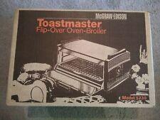 Vintage McGraw Edison TOASTMASTER Flip Over Oven Broiler Sealed NIB 5230 Rare!