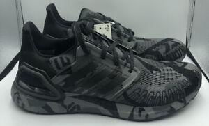 Adidas UltraBOOST 20 Geometric Pack Black Grey Camo FV8329 Men's Shoe