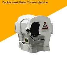 Double Head Plaster Trimmer Machine Dental Lab Equipment Tool Gypsum MODEL  M