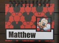 Personalized Disney Autograph & Photo Book - Mickey Mouse