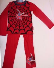 Marvel Spider-Man Pajama Sleepwear 2-Piece Set Red Size 9 (128)