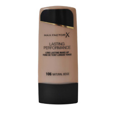 MAX FACTOR Lasting Performance Beige Naturale - 106-Nuovo-Gratis P&P - UK