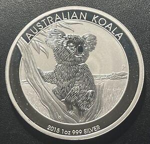 Australia 2015 Koala One Ounce Silver Coin