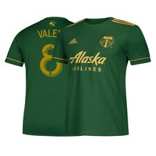Diego Valeri Portland Timbers MLS Adidas Men's Green Climalite Replica Jersey