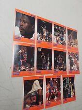 PATRICK EWING 1990 Star Co. 11 Card Basketball Set New York Knicks MInt