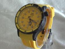 Mechanisch-(Handaufzug) Armbanduhren aus Edelstahl mit Drehlünette für Herren