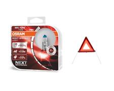 OSRAM 12V Night Breaker Laser +150% mehr Helligkeit + Warndreieick