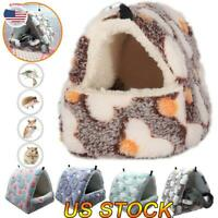 US Hamster Cotton Nest Sugar Glider Sleeping Bag Squirrel Hedgehog Hanging Cage