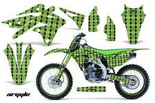AMR Racing Kawasaki KX250 Graphic Number Plate Kit Bike Decal MX Part 13-15 AG G