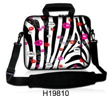 "15"" -15.6"" Computadora Portátil Bolso Con Asa y Correa Case 15 in (approx. 38.10 cm) Laptop Bag ""Zebra LABIOS"""