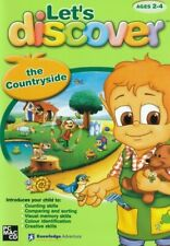 LET'S DISCOVER The Countryside - Childrens Software - Ages 2-4 - PC & MAC
