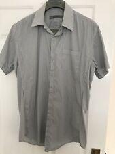 Reiss Short Sleeved Cotton Blend Shirt Size L