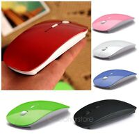2.4GHz USB Wireless Optical Mouse Mice for Apple Mac Macbook Pro Air PC 6 Colors