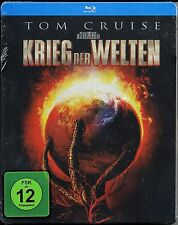 War of the Worlds  Blu-ray SteelBook  OOP/HTF FINAL COPY