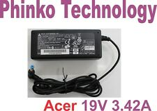 NEW Genuine Original Adapter Charger for ACER Laptops, 19V 3.42A, 65W