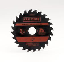 Craftsman 3-3/8 Inch 20 Tooth Circular Saw Blade for Bolt-On Trim Saw