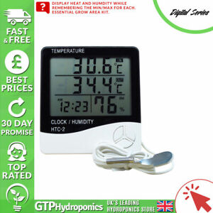 Digital Series Digital Thermometer & Hygrometer - Grow Room Humidity Sensor