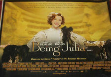 Cinema Poster: BEING JULIA 2004 (Quad) Annette Bening