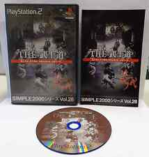 Gioco Game Playstation 2 PS2 NTSC JAP JAPANESE GIAPPONESE Bushido Simple vol. 28