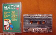 Mc Musicassetta 1993 RE DI CUORI 16 canzoni d'amore anni '60 DB records 1004