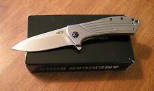 ZERO TOLERANCE New Rexford Design 0801Titanium Flipper El Max Blade Knife/Knives