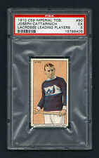 PSA 5 1910 C59 LaCROSSE CARD #90  JOSEPH CATTARINICH